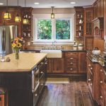kitchen with hanex countertops