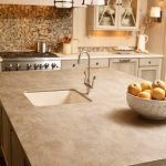 corian kitchen countertop in sonora
