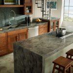 corian sorrel kitchen countertop