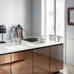 elegant corian kitchen countertop