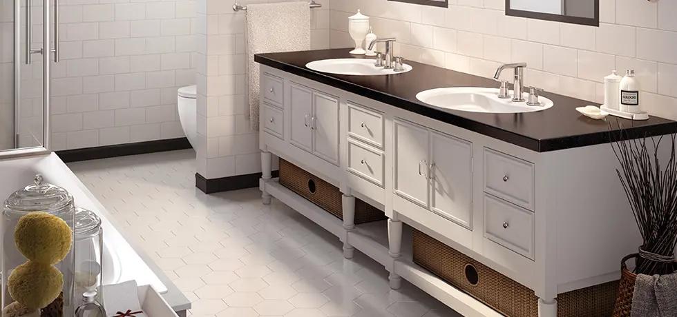 black wilsonart bathroom countertops