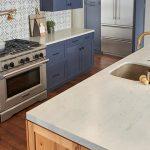 modern kitchen with wilsonart countertops